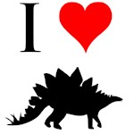 I Love Dinosaurs - Stegosaurus