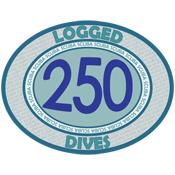 250 Logged Dives