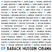 All Presidents up to Obama