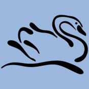 Stylized Swan