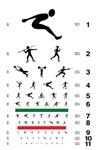 Decorative eye charts