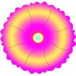 Pink Flower Hindu Mandala