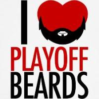 Blackhawks Playoff Beards