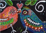 Day of the Dead Lovebirds