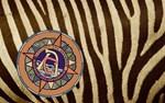 AC Logo on Zebra