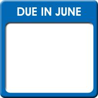 Due in June