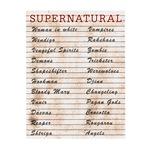 Supernatural - Urban Legends List