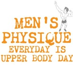 Men's Physique Everyday Is Upper Body Day