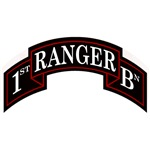 1st Ranger Battalion Scroll