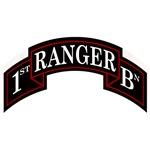 1st Ranger Battalion Scroll