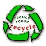 Reduce Reuse Recycle 1 T-shirts and Gear