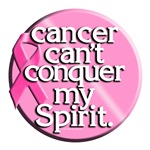 Breast Cancer Cant Conquer my Spirit / Survivor