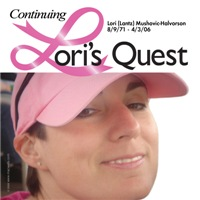 Lori's Quest 2 Personalized Breast Cancer T-shirts