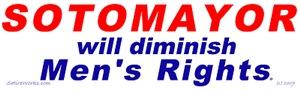 Sotomayor against men