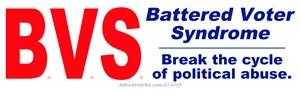 Battered Voter Syndrome