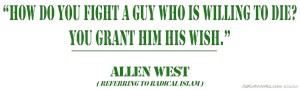 Allen West Wish