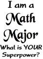 my major is