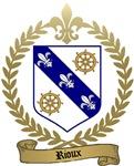 RIOUX Family Crest