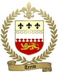 TERRIO Family Crest