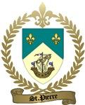 ST. PIERRE Family Crest