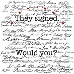 Declaration of Independence Signature Products