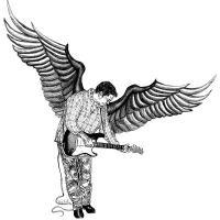 Winged Guitarist