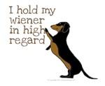 I hold my wiener in high regard