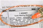 Wanted: 1 Kidney