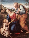 The Holy Family with Lamb