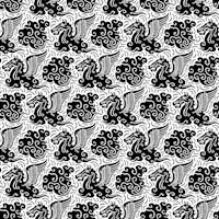 Pegasus Pattern t-shirt