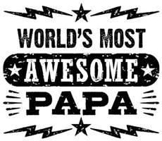 World's Most Awesome Papa t-shirts