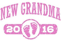 New Grandma 2016 t-shirt