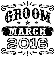 Groom March 2016 t-shirt