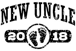 New Uncle 2018 t-shirt