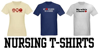 Nursing t-shirts