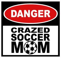 Crazed Soccer Mom t-shirt