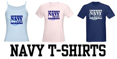 Navy t-shirts