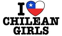 I Love Chilean Girls t-shirts
