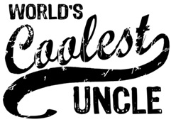 World's Coolest Uncle t-shirts