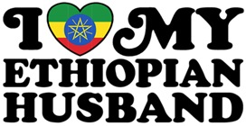 I Love My Ethiopian Husband t-shirts