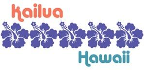 Kailua Hawaii t-shirt
