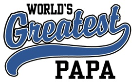 World's Greatest Papa t-shirts