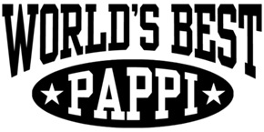 World's Best Pappi t-shirts