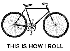 This Is How I Roll Bicycle t-shirts
