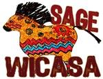 Wicasa the Sage Totem Pony