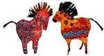 Colorful Totem Ponies