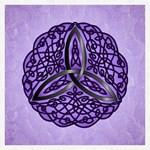 Purple Celtic Trinity Knot