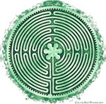 Green Chartres Labyrinth