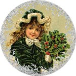 Vintage Victorian Christmas Ornaments