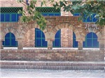 Brick and Blue Tile